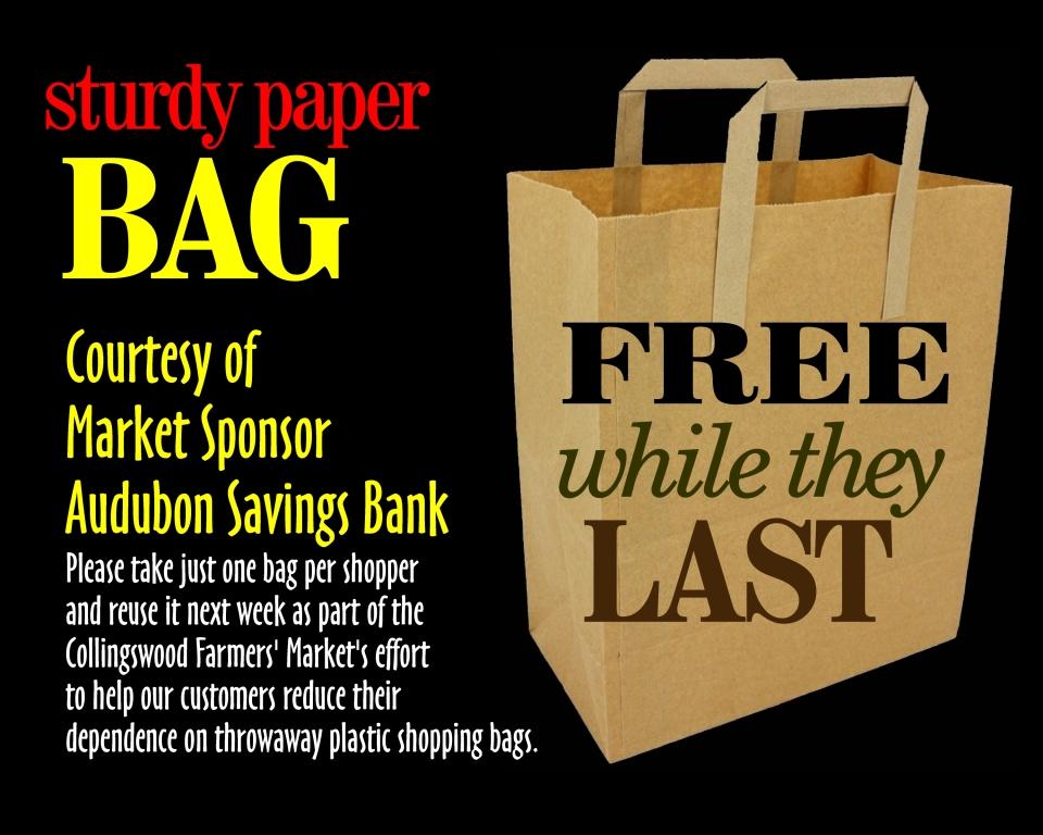 Free Paper Bag Sign