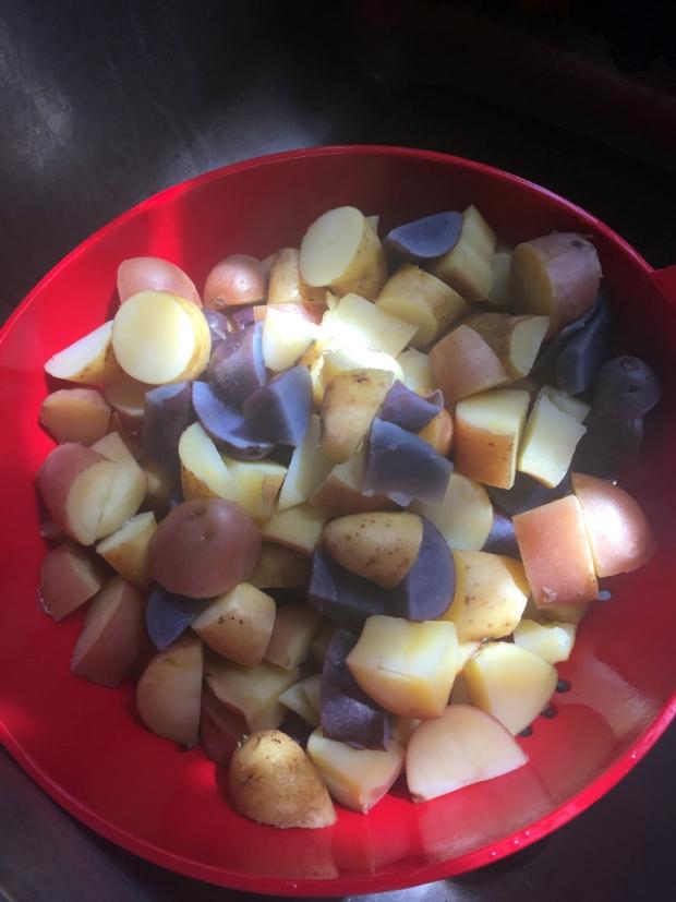 Susan RWB Potato Salad