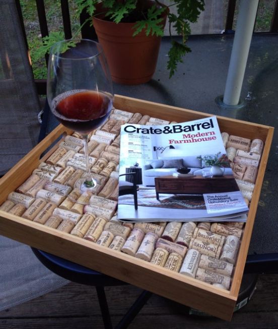 Le Vin Et La Mer Cork Tray