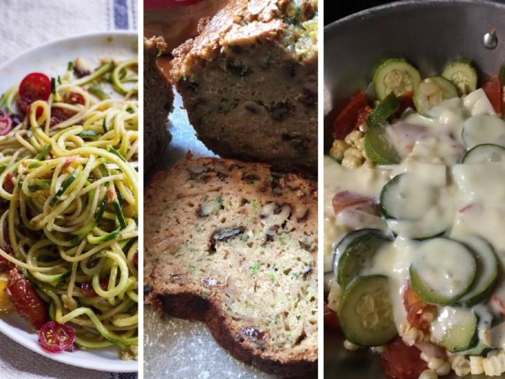 Zucchini 3 Ways