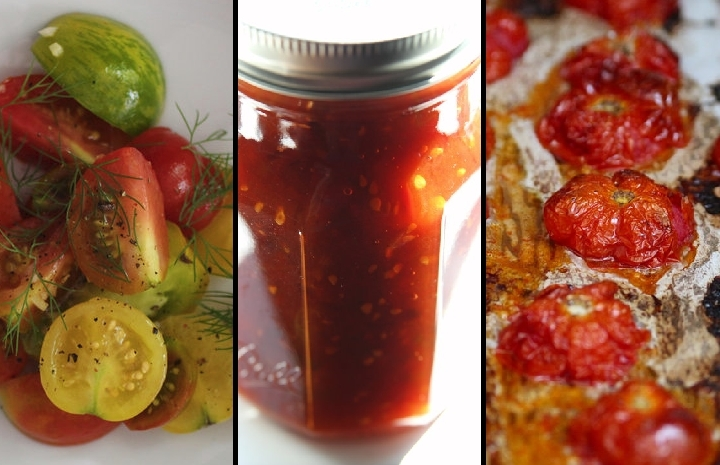 3 Tomato Recipes