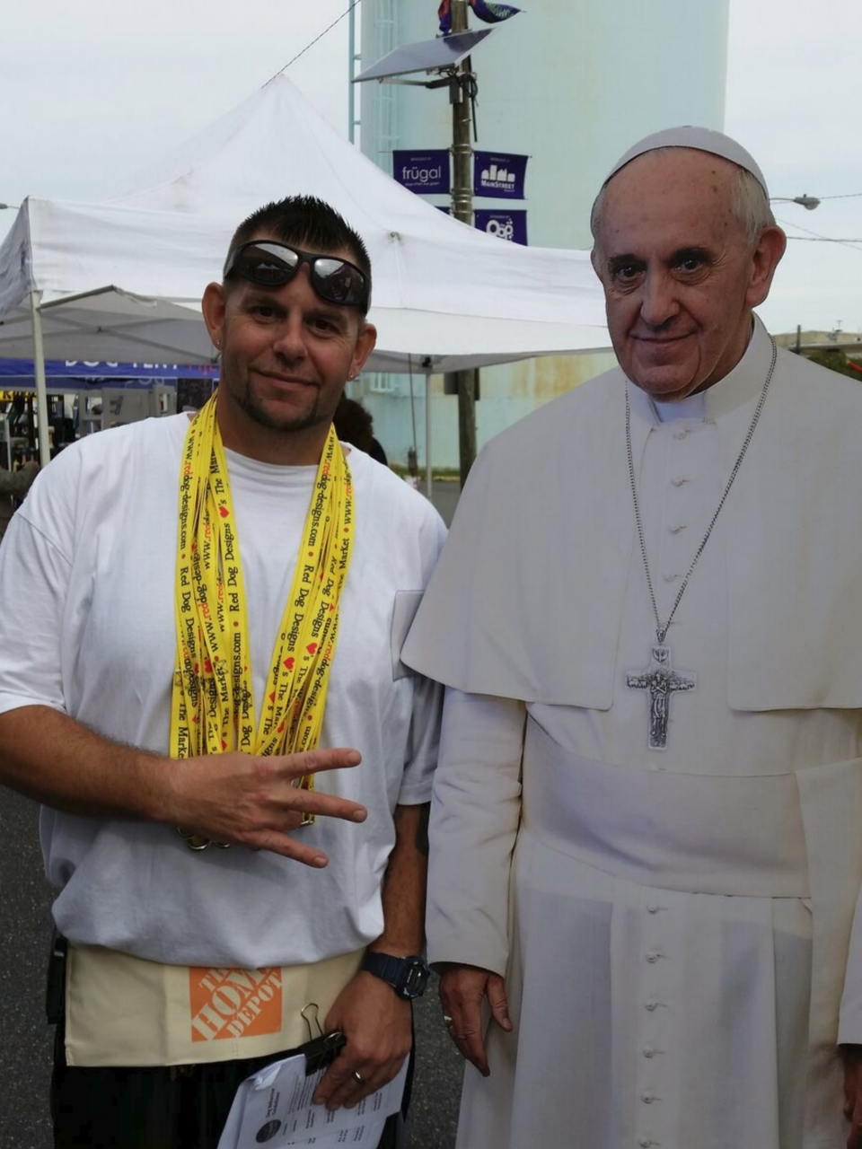Joe and the Pope