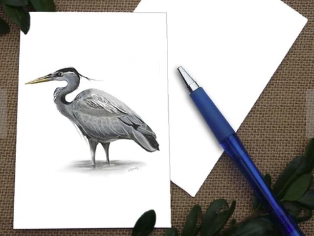 Heron Card
