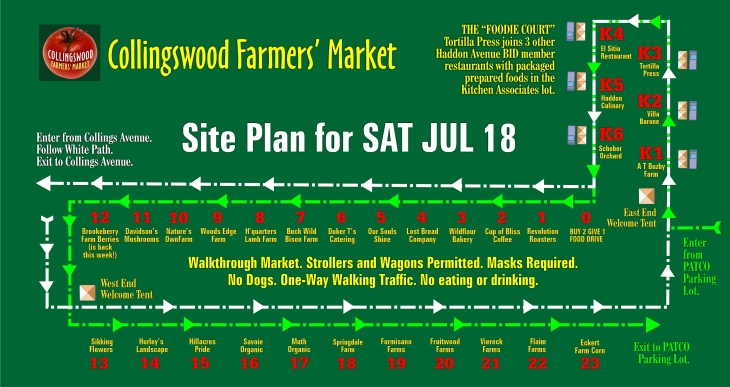 Site Plan SAT JUL 18